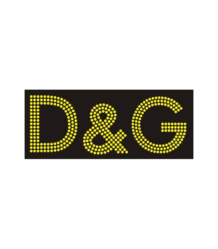 D&G Transfer de Strass 19*7cm