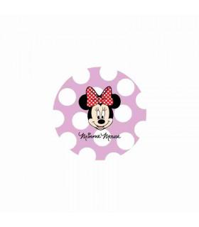 Minnie Mouse Lunares Grandes Lila/Blanco