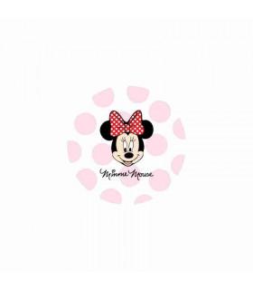Minnie Mouse Lunares Grandes Blanco/Rosa
