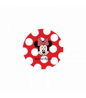 Minnie Mouse Lunares Grandes Rojo/Blanco