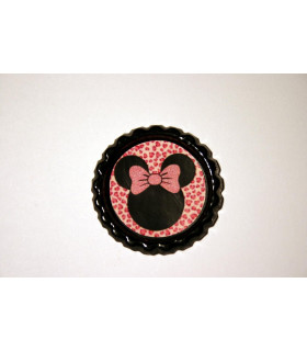 Minnie Animal Print Rosa