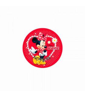 Minnie Mouse corazón lunares