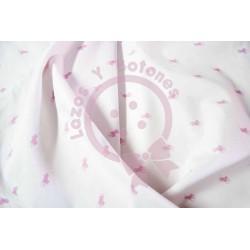 Tela Polo Ralph Lauren blanco/rosa