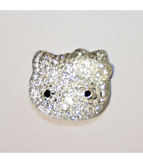 Resina Kitty STRASS 25*22mm - Varios colores