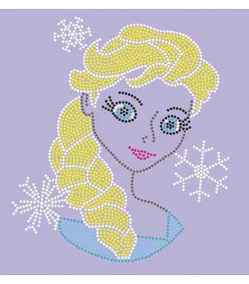 Elsa transfer de strass 14*15cm