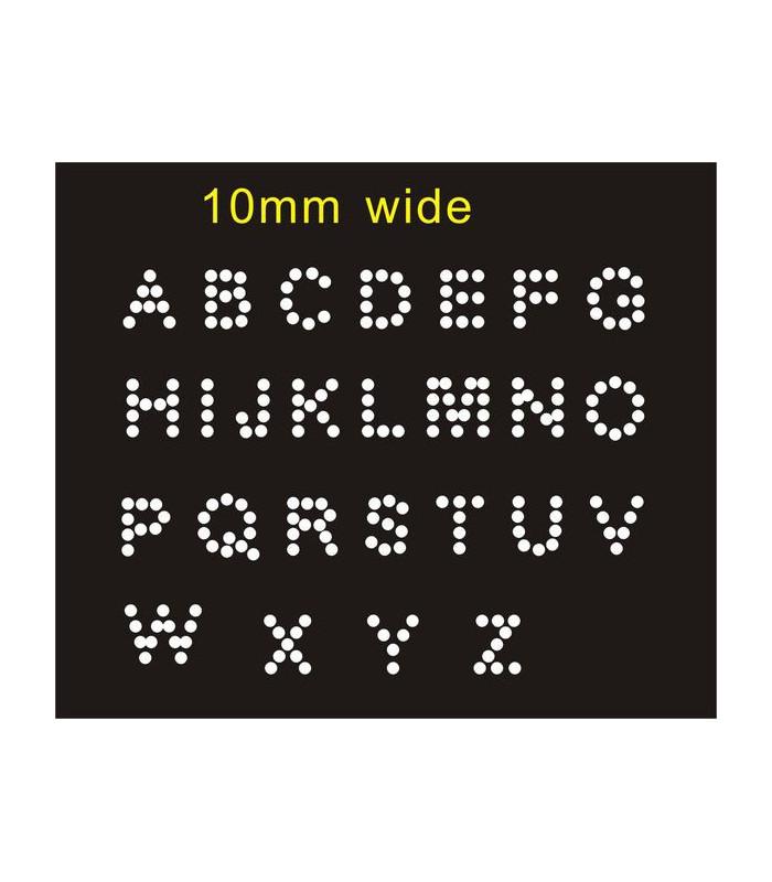 Abecedario MINI 10mm