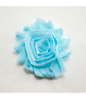 Flor de tul MORADA 60mm