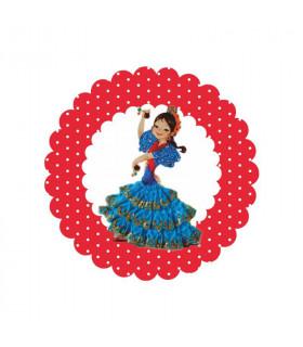 Flamenca lunares rojo 5