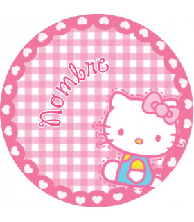 Hello kitty Vichy redonda