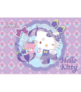 Hello Kitty camafeo morado
