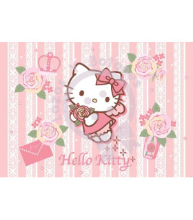 Hello kitty encaje