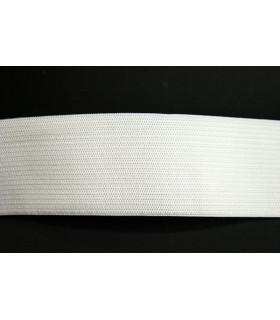 Goma elástica blanca 40mm