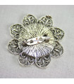 Base broche flor 45mm - Varios Colores