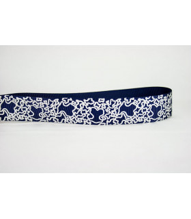 OSITOUS KAOS ESTAMPADO REAL azul marino/plata 25mm