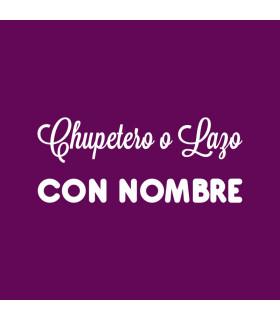 Chupetero o Lazo CON NOMBRE - Varias medidas y colores