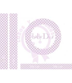 BABY DIOR VICHY - Lila