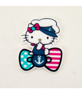 Hello Kitty Lazo Marinero 34x25mm