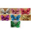 Mariposas de lentejuelas 65mm - Varios colores