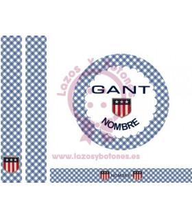 GANT VICHY - AZUL