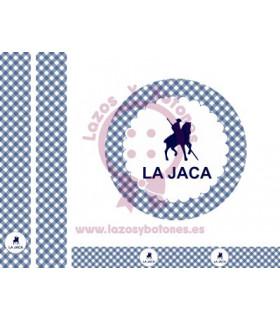 LA JACA - VICHY AZUL