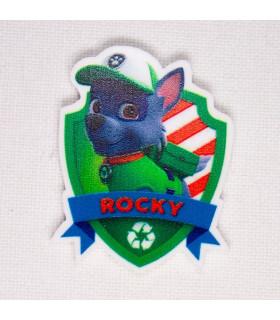 PATRULLA CANINA ESCUDO - ROCKY