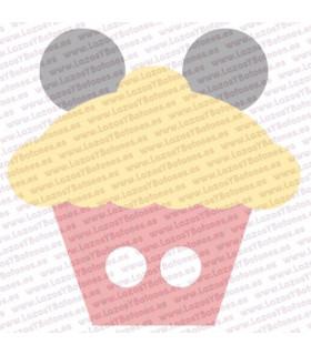 MICKEY & MINNIE CANDY - MICKEY CUPCAKE