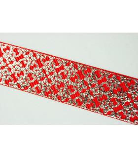 TOUS INSPIRADO MOSAIC rojo/plata 25mm