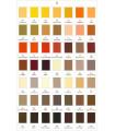 Carta de Colores Grosgrain