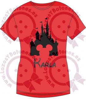 Vinilo Textil - Castillo Disney