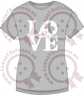 Vinilo textil LOVE TOUS INSPIRADO