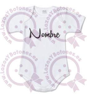Vinilo textil BODY CON NOMBRE