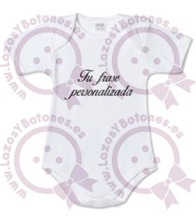 Vinilo textil BODY CON FRASE - PROMOCIÓN NUEVO PRODUCTO