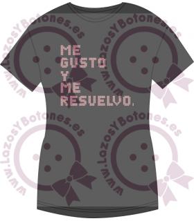 Vinilo Textil - ME GUSTO