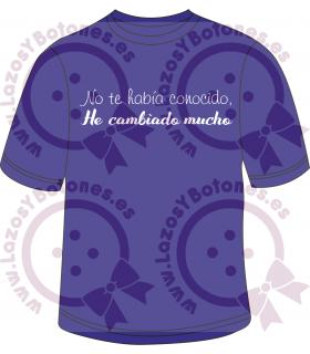 Vinilo Textil - HE CAMBIADO MUCHO