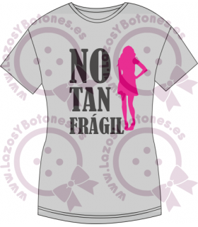 Vinilo Textil - NO SOY TAN FRÁGIL