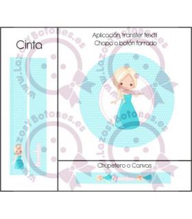 PRINCESAS BABY CUTE LUNARES - ELSA FROZEN 2