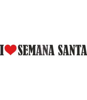 I LOVE SEMANA SANTA