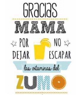 DÍA DE LA MADRE - MAMÁ Y EL ZUMO