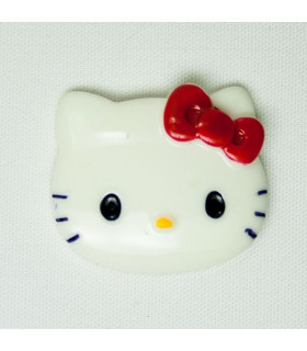HELLO KITTY LAZO 27*24mm - Varios colores