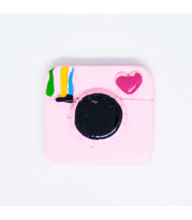 INSTAGRAM ROSA 22*22mm