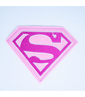 PARCHE BORDADO SUPERWOMAN 10.5*8cms