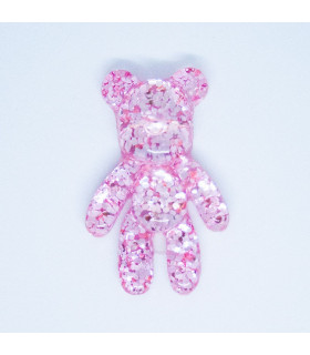 TEDDY BEAR PURPURINA 34*51mm - VARIOS COLORES