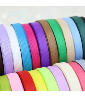 PACK DE 3m Grosgrain Low cost 25mm - Varios colores