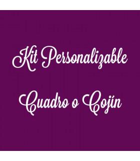 Kit Personalizable - Cuadro o Cojín