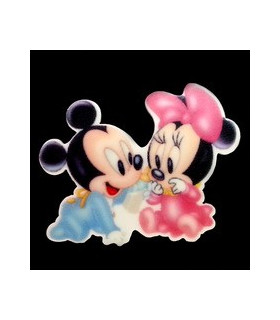 Minnie & Mickey Baby 29*37MM