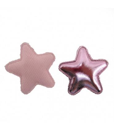 PACK DE 2 Apliques de Estrellas CHAROL 43mm