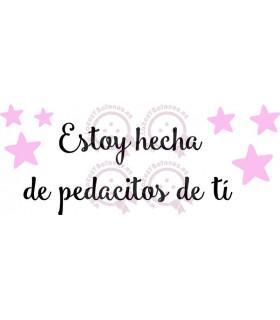 ESTOY HECHO/A DE PEDACITOS DE TÍ