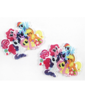 RESINA LITTLE PONY 45*36mm
