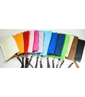 BOLSOS DE MANO 20*15cms - Varios colores