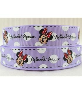 Minnie Mouse lila con Lunares Grandes 38mm